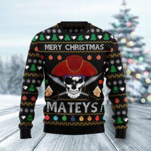 Pirate Skull Ugly Christmas Ugly Christmas Sweater