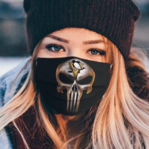 Pittsburgh Penguins The Punisher Mashup Ice Hockey Cloth Face Mask