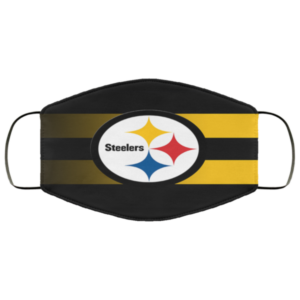 Pittsburgh Steelers Face Mask Antibacterial Fabric