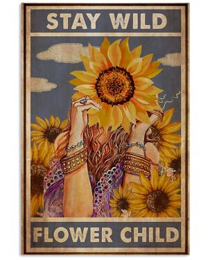Redhead   Stay Wild Moon Child Poster