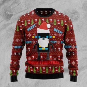 Robot Santa Ugly Christmas Sweater