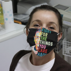 Ruth Bader Ginsburg Fight For The Things You Care About Cloth Face Mask