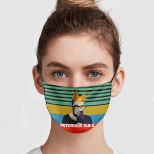 Ruth Bader Ginsburg Notorious R.B.G Face Mask