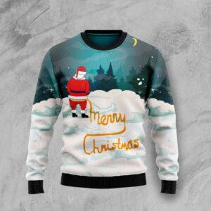 Santa Merry Christmas Ugly Christmas Sweater