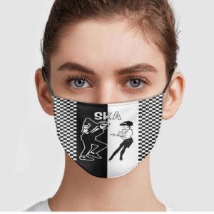 Ska Dance Face Mask