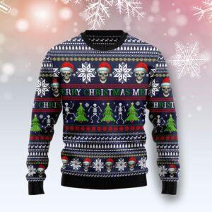 Skull Christmas Ugly Christmas Sweater