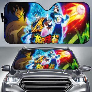 Songoku & Vegeta Dragon Ball Super Broly Car Sun Shade