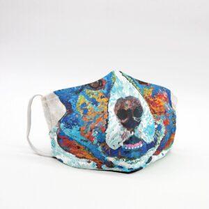 Special Corgi Artwork Art Face Mask