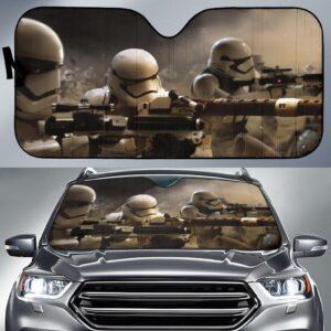 Star Wars Army Car Sun Shade