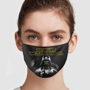 Star Wars Darth Vader Always Wear Mask Face Mask