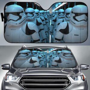 Star Wars Strooper Army Car Sun Shade