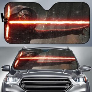 Star Wars The Force Awakens Car Sun Shade