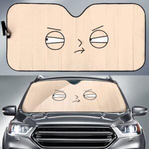 Stewie Griffin Car Sun Shade