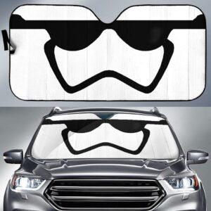 Stormstrooper Face Star Wars Car Sun Shade