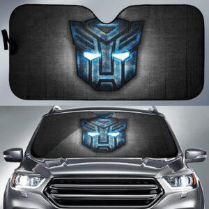 Stranformers Logo Car Sun Shade
