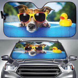 Summer Dog Car Sun Shade