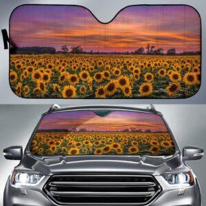 Sun Flower Car Sun Shade