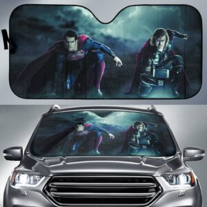 Superman Thor Car Sun Shade