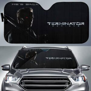 Terminator T800 Car Sun Shade
