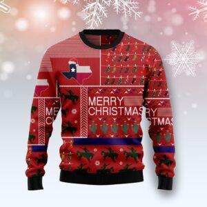 Texas Merry Christmas Ugly Christmas Sweater