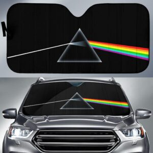 The Dark Side Pink Floyd Car Sun Shade