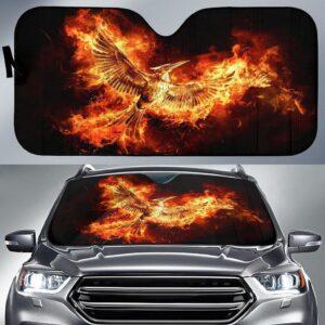 The Hunger Games Mockingjays Car Sun Shade