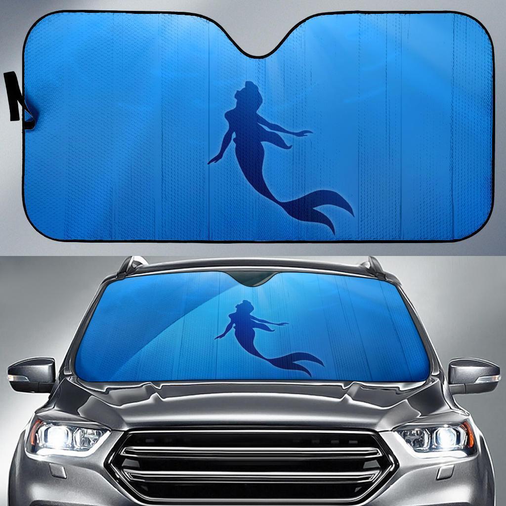 The Little Mermaid Car Sun Shade