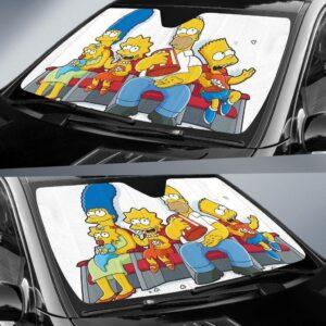 The Simpson Family Car Sun Shade 1