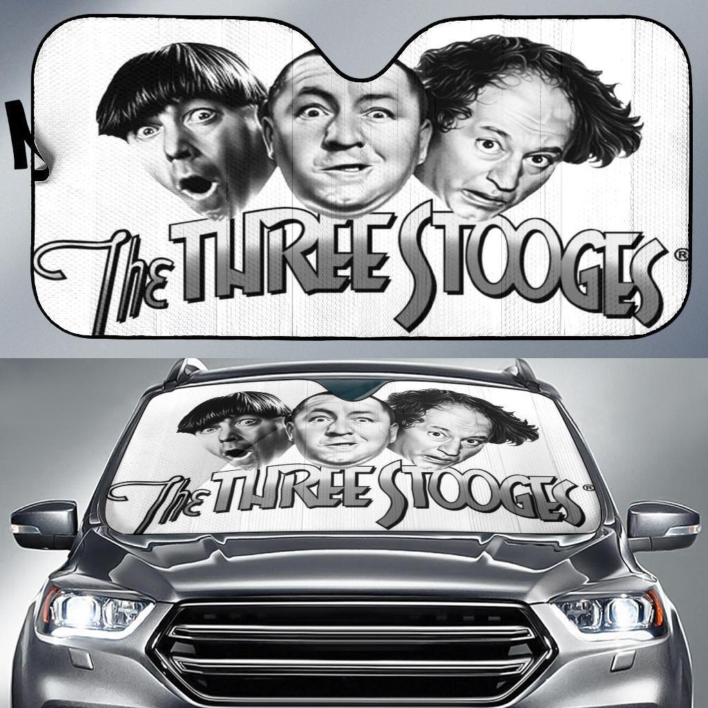The Three Stooges Car Sun Shade