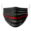 Thin Red Line face mask 4