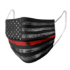 Thin Red Line face mask 5