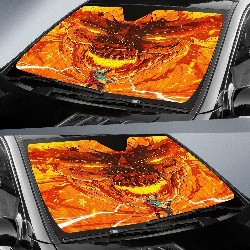 Thor Vs Sultur Car Sun Shade