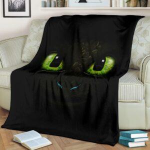 Toothless Fleece Blanket