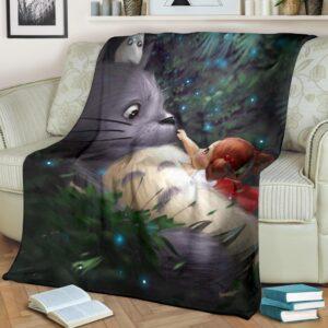 Totoro Fleece Blanket
