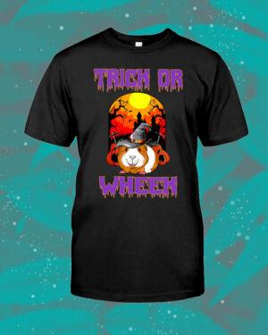 Trick Or Wheek Guinea Pig Halloween Shirt