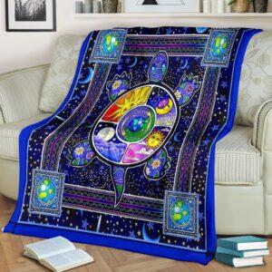 Turtle Color Fleece Blanket