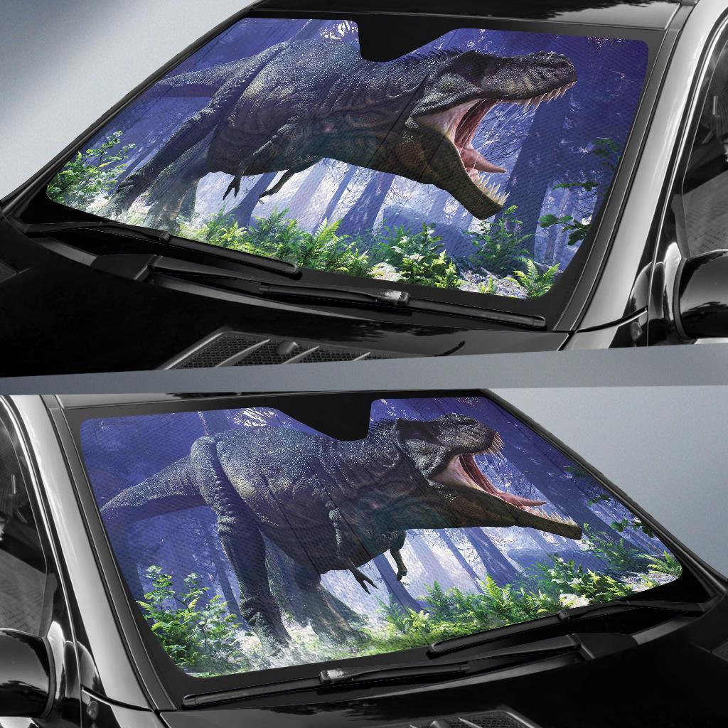 Tyrannosaurus T Rex Car Sun Shade