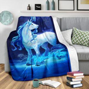 Unicorn Fleece Blanket