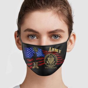 United States Veteran Face Mask