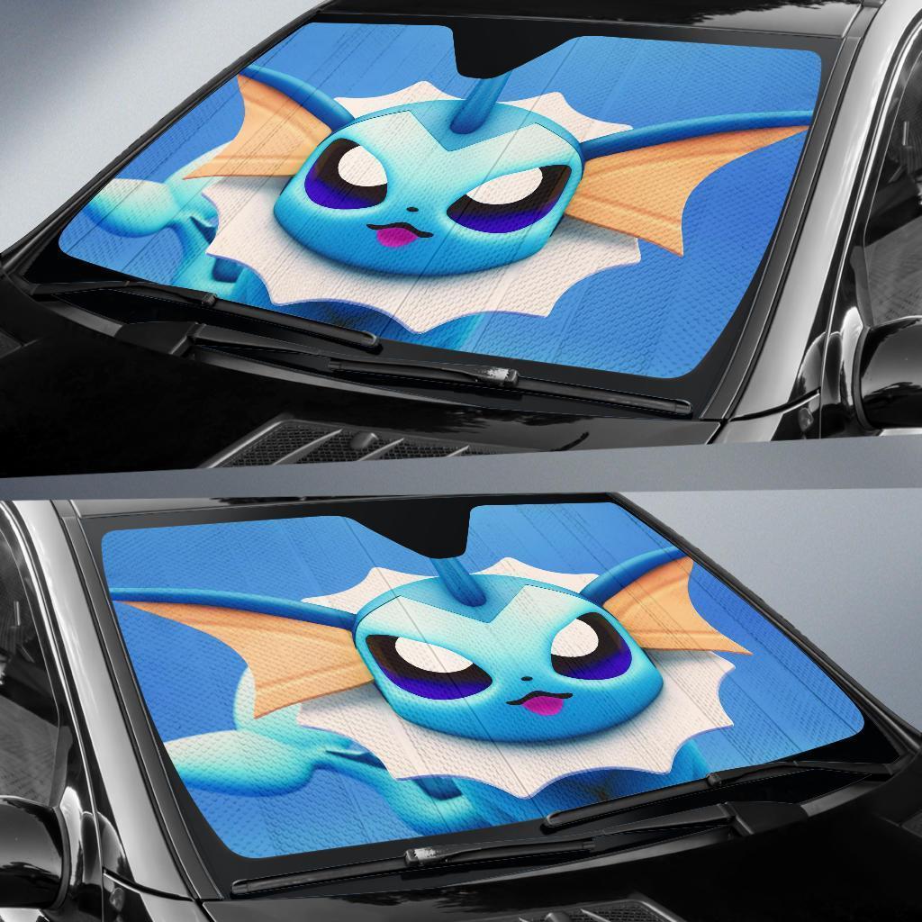 Vaporeon Pokemon Car Sun Shade