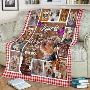 Yorkshire Angels Fleece Blanket
