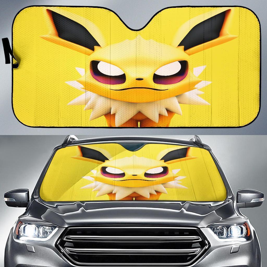Zolteon Pokemon Car Sun Shade
