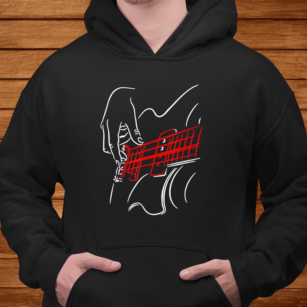 Acoustic Guitar Guitarist Bass Player Musician Vintage Shirt