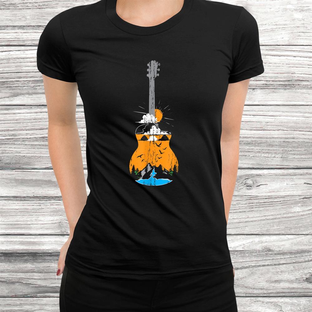 Acoustic Guitar Lake Shirt
