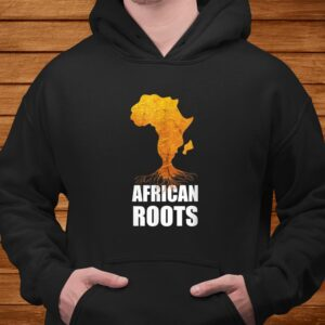 africa map t shirt with african roots afro american t shirt Men 4
