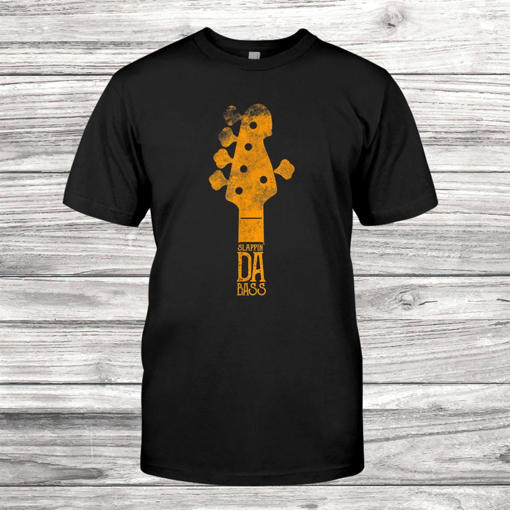 American Bassist Bass Guitar Player T-Shirt Music Shirt