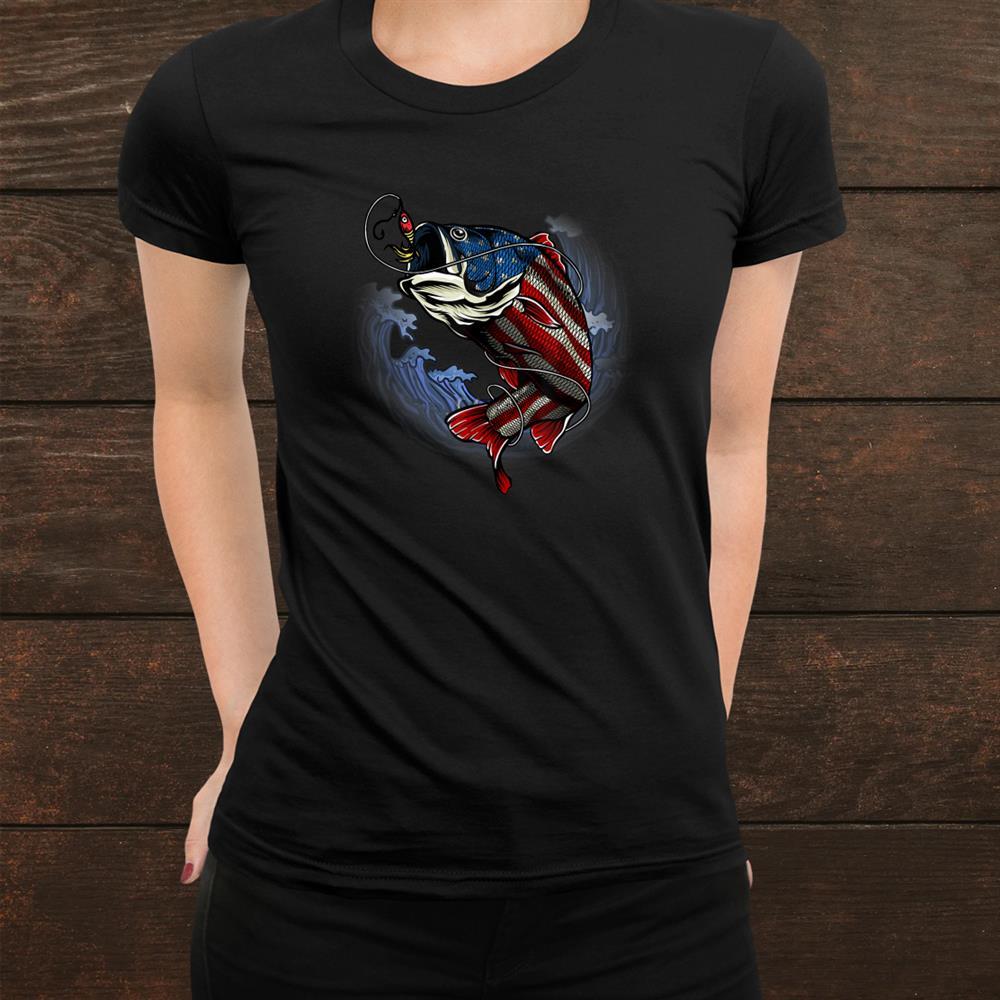 American Patriotic Fisher Fishing Lovers Shirt