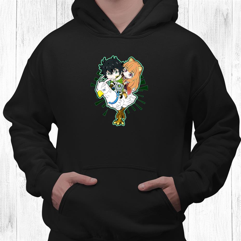 Art Rising Of The Shield Anime Hero Shirt