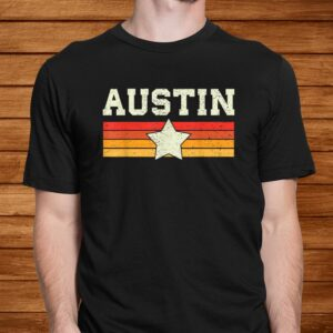 austin texas t shirt retro vintage shirt gift men women kids t shirt Men 2