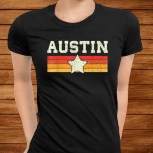 austin texas t shirt retro vintage shirt gift men women kids t shirt Men 3